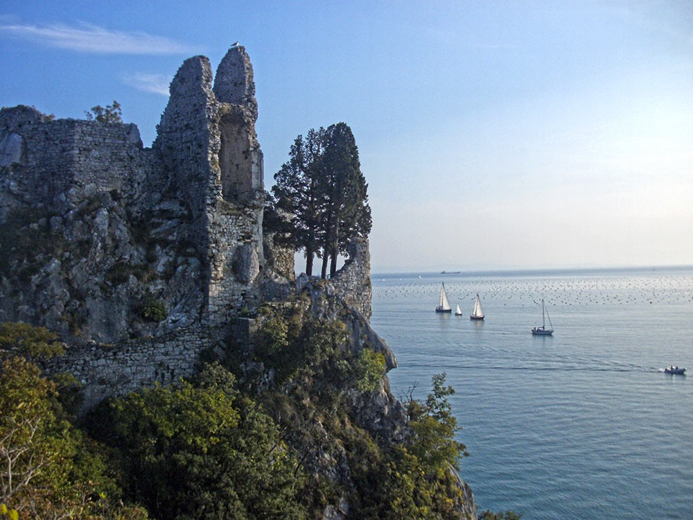 Weird Italy Duino-Castle-9 History & Images of Duino Castle Italian History Italian People What to see in Italy  Friuli Venezia Giulia castle