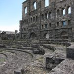 History & Images of the Roman Theatre in Aosta