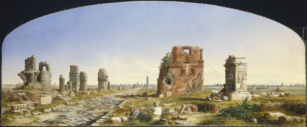 John Linton Chapman - The Appian Way