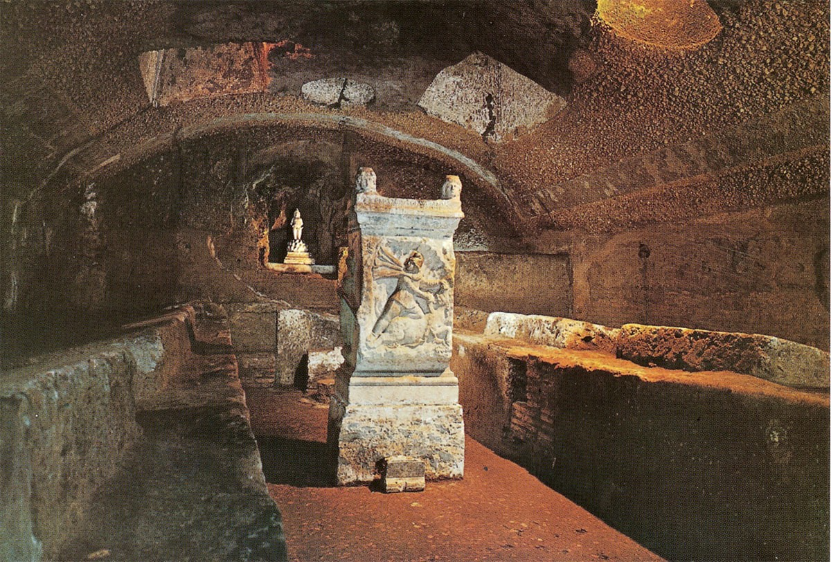 Weird Italy Mithreum-San-Clemente The Mithraeum of San Clemente in Rome: an underground temple devoted to Mithras Featured Italian History What to see in Italy  romans roman history pagan temple mithras