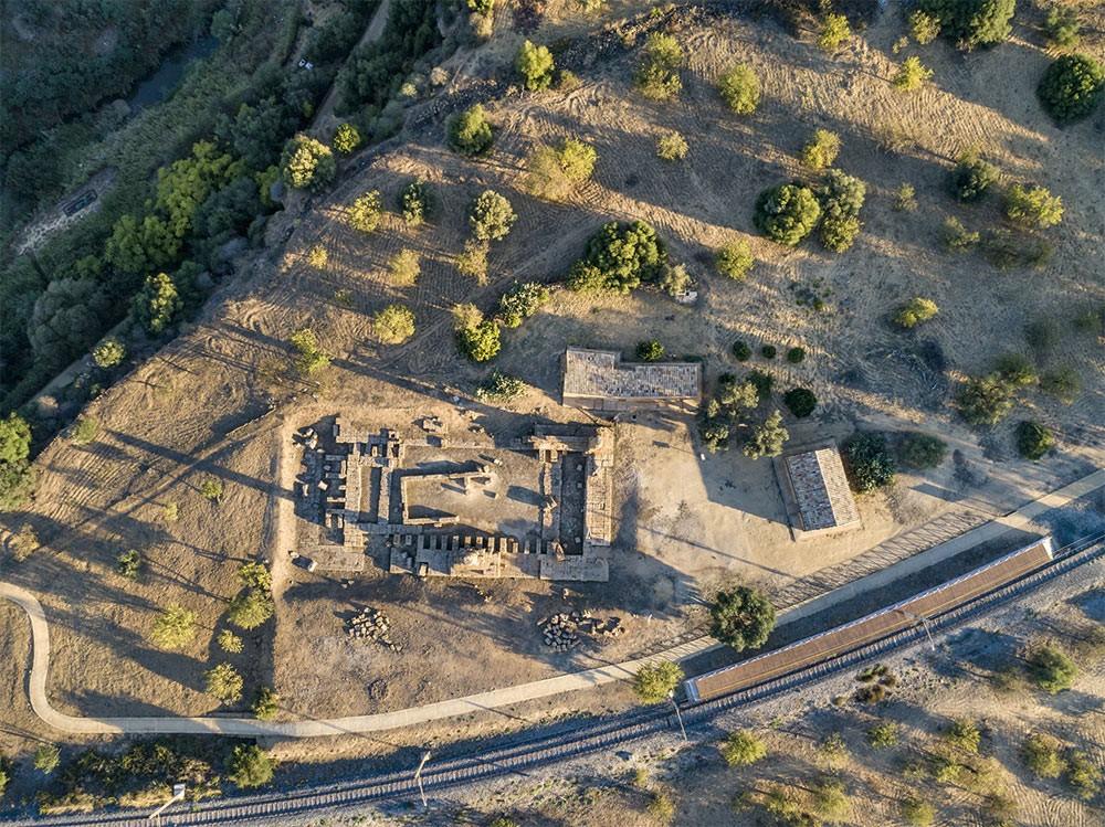 Temple of Vulcan (Hephaestus in Greek)