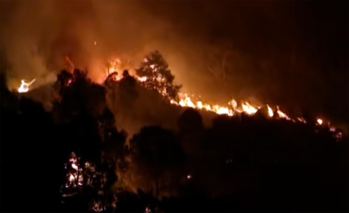 Italy fires
