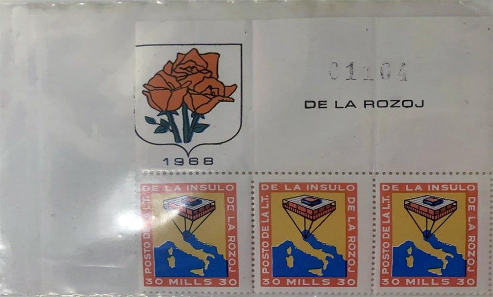 Republic-of-Rose-Island---Repubblica-dell'Isola-delle-Rose---stamps