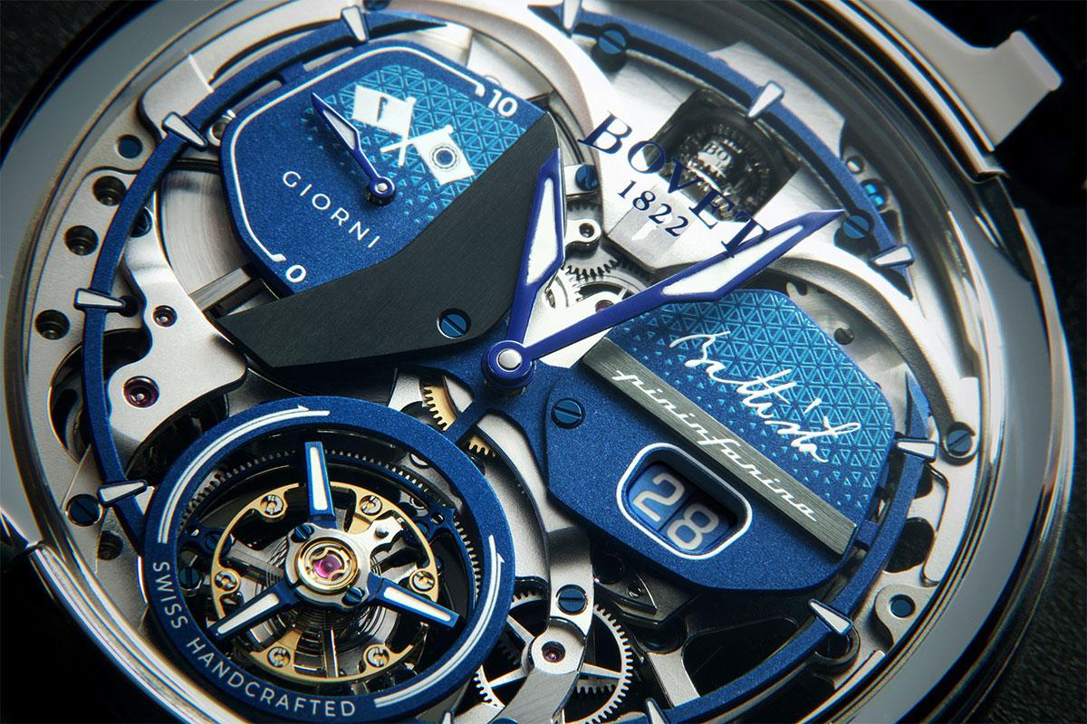 New Battista Tourbillon Timepiece